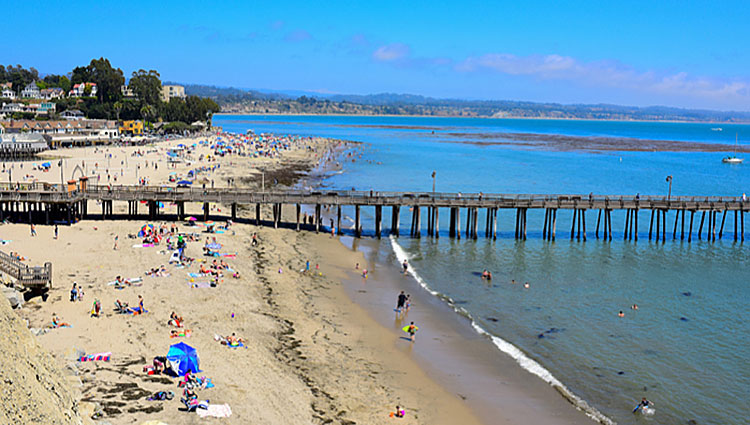 Capitola Wharf | photo credit Times Publishing Group, Inc. T P G Online Daily dot com